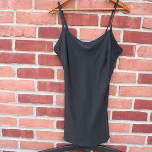 Vera Wang Lavender Label 100% Silk Black Cami, 6